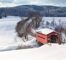 Covered Bridge by Eunice Gibb