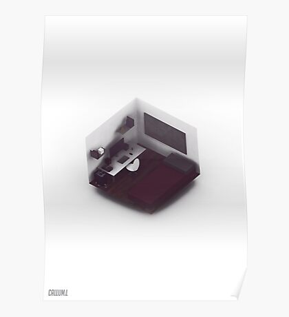 Isometric Office. Poster