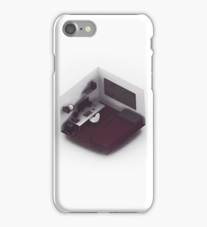 Isometric Office. iPhone Case/Skin