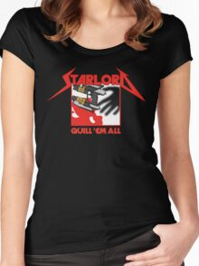 Quill 'em All Women's Fitted Scoop T-Shirt