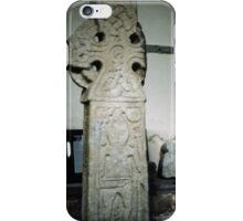 Jellinge Cross C St Andrews Middleton North Yorkshire England 198406020106  iPhone Case/Skin