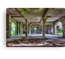 Brenton Point Stables Abandoned 3 Canvas Print
