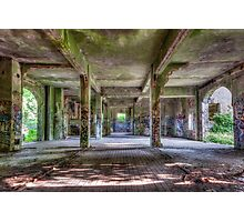 Brenton Point Stables Abandoned 3 Photographic Print