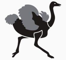 Running ostrich Kids Clothes