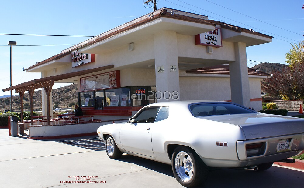 EZ Take Out Burger; Palmdale, CA Est. 1969  by leih2008