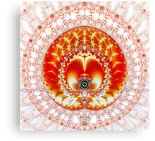 'Andrianna's Lace' Canvas Print
