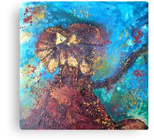 King of the Termite Mound Canvas Print