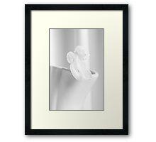 Traces - Flower Framed Print