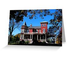 Home of author Stephen King Greeting Card
