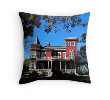 Home of author Stephen King Throw Pillow