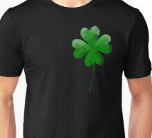 Low Poly, Geometric Four Leaf Clover Unisex T-Shirt