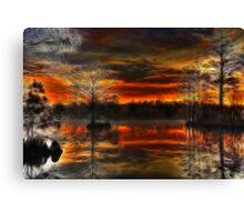 Poyners Creek II Canvas Print