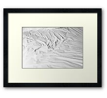 Traces - Bed Framed Print