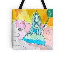 Queen Frostine Candy Land, Ruler of the Ice Cream Sea Tote Bag