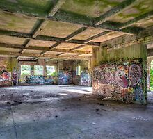 Brenton Point Stables Abandoned by Joshua McDonough Photography