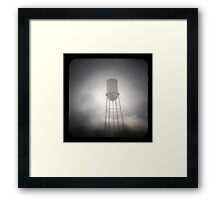 Water Tower TtV #2 Framed Print