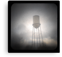 Water Tower TtV #2 Canvas Print