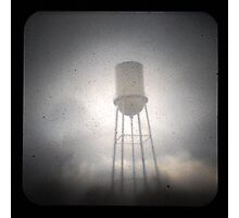 Water Tower TtV #2 Photographic Print