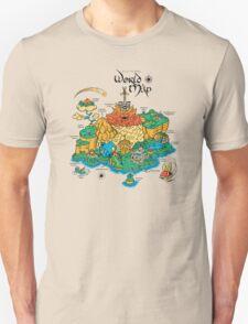 World Map  T-Shirt