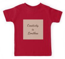 Beautiful Cushions/ Creativity is Limitless Three Kids Tee