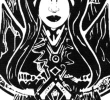 Queen of Pain Dota 2 Black Sticker