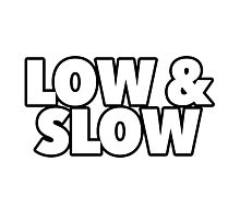 Low & Slow Photographic Print
