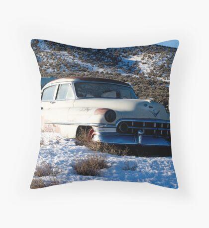 1950 Cadillac Throw Pillow