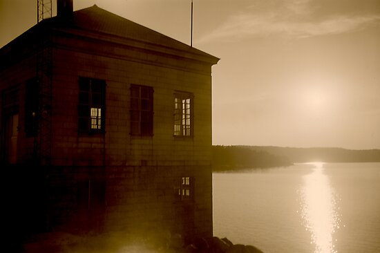 Scituate Reservoir Water Pumping Station #2 by Paul Lavallee