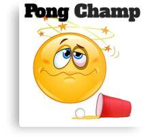 pong champ Metal Print