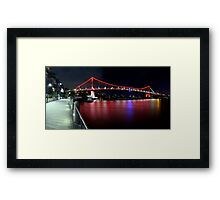 The Bloody River Framed Print