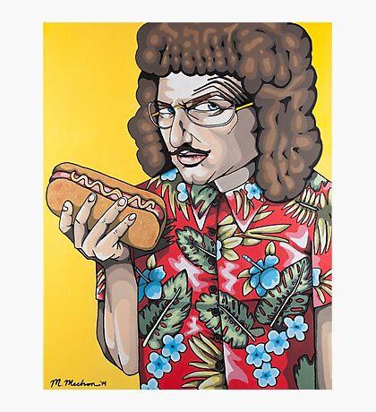 Weird Vincent Photographic Print