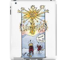 """Huzzah Huzzah"" Webcomic Starburst iPad Case/Skin"