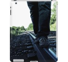 Railroad Walk. iPad Case/Skin