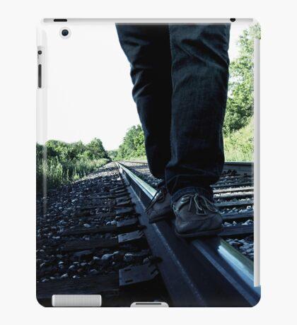 Railroad Walk. iPad Case/Skin