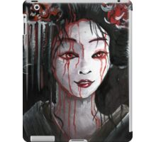 Geisha in Blood: The unwiling Concubine iPad Case/Skin