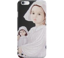 China Dolls girl at play iPhone Case/Skin