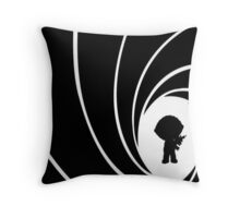 Stew Bond Throw Pillow