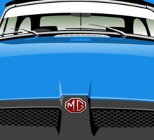 MG MGB rubber bumper blue Sticker