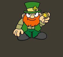 Leprechaun with Gold Coin Unisex T-Shirt