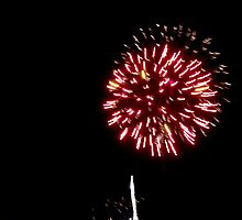 new year's fireworks at port fairy... by partyofive