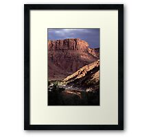 Green River View Framed Print