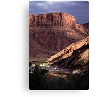 Green River View Canvas Print