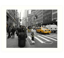 5th Avenue Art Print
