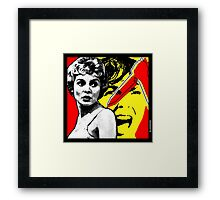 That Bate's is a Psycho! Framed Print