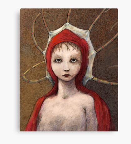 Young Octobull Canvas Print