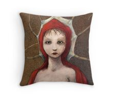 Young Octobull Throw Pillow