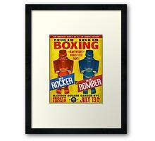 Rock Em Sock Em Boxing! Framed Print