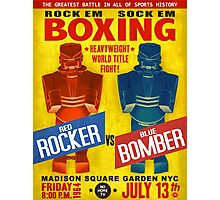 Rock Em Sock Em Boxing! Photographic Print