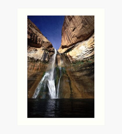 Lower Calf Creek Falls Art Print