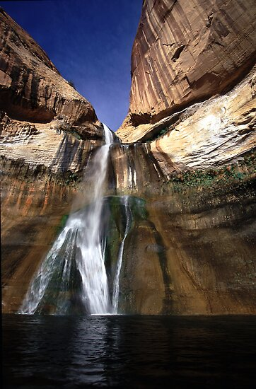 Lower Calf Creek Falls by Brian Hendricks